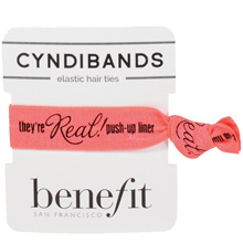 logo hair tie and pack