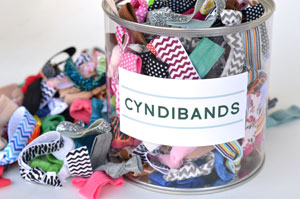 wholesale hair ties container