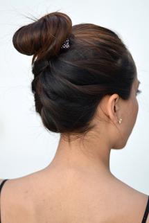 Braided Bun Hair Style