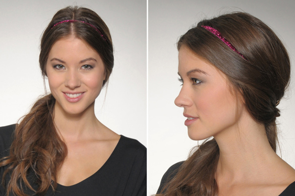Side Ponytail Headbands