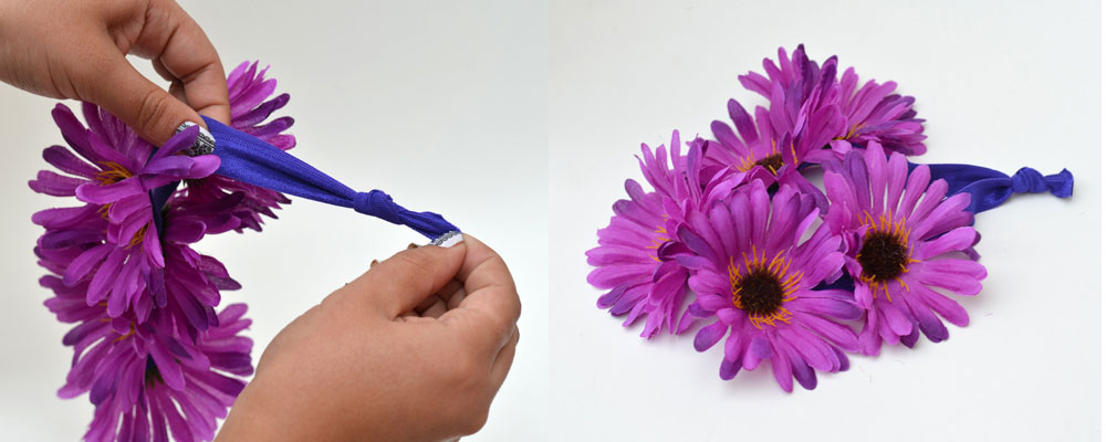 Make Your Own Flower Headband
