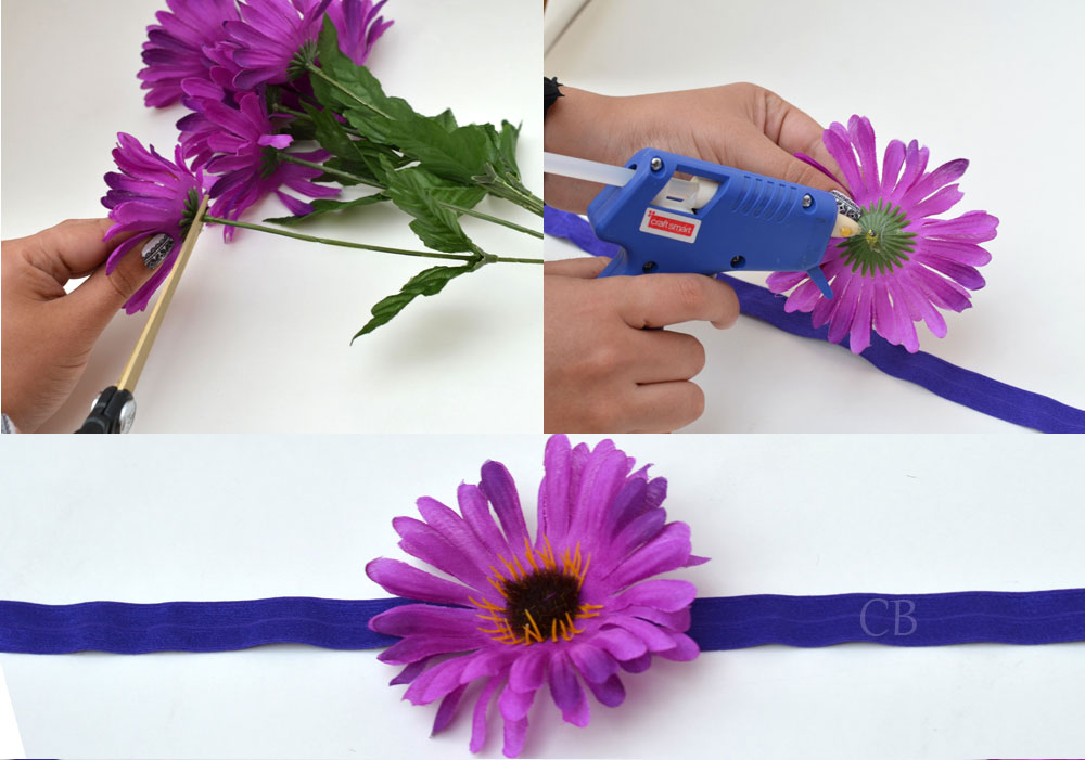 Step 2 Glue Flower