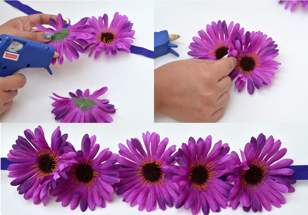 Step 5 Floral Headbands