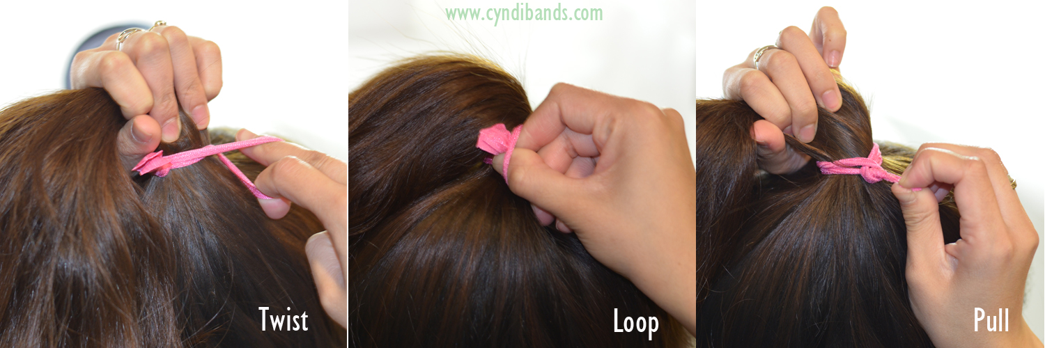 Knot Trick Tighter Ponytail