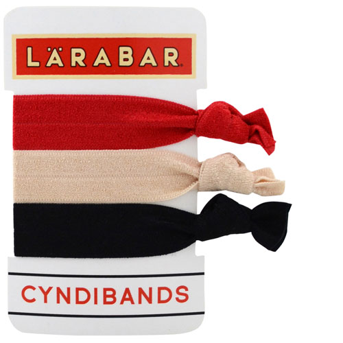 custom logo 3 pack hair ties