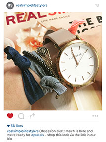 Real Simple Magazine Instagram